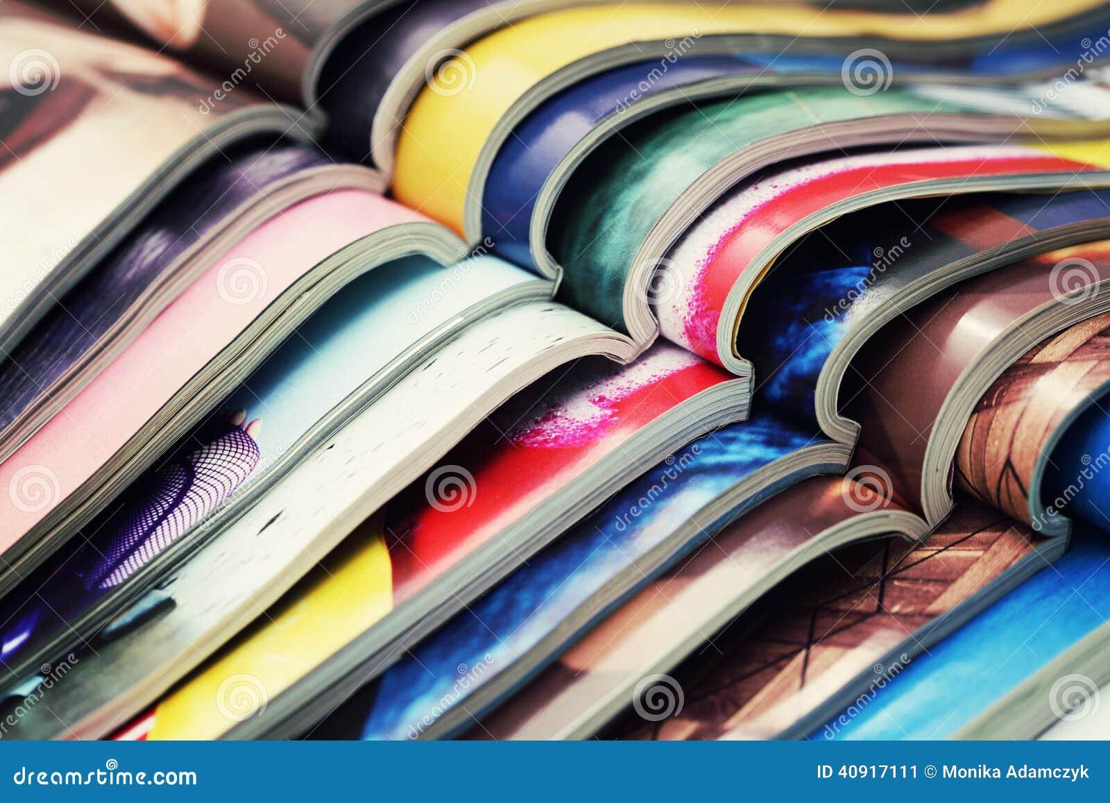 Bunt av tidskrifter