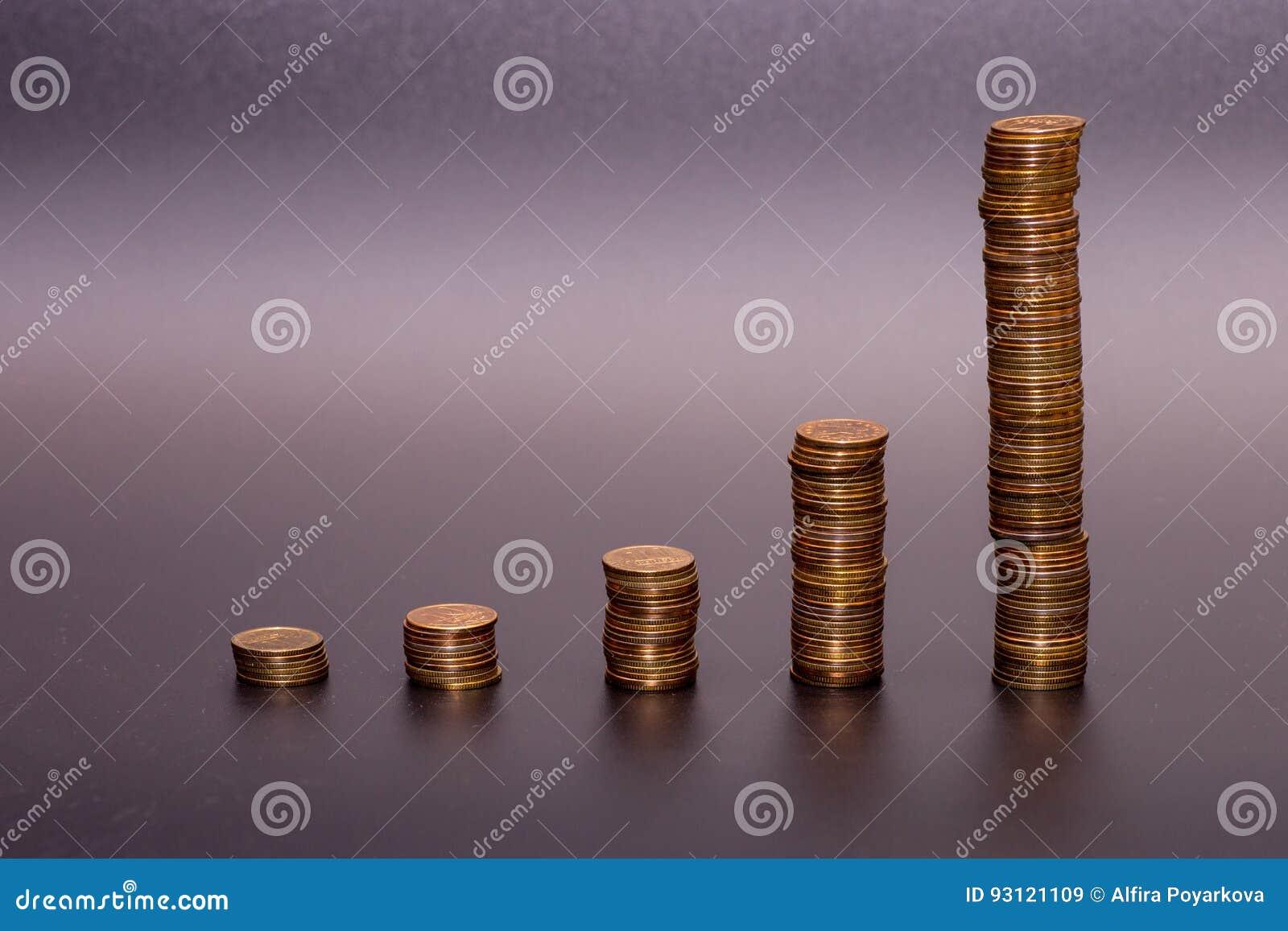 Bunt för guld- mynt