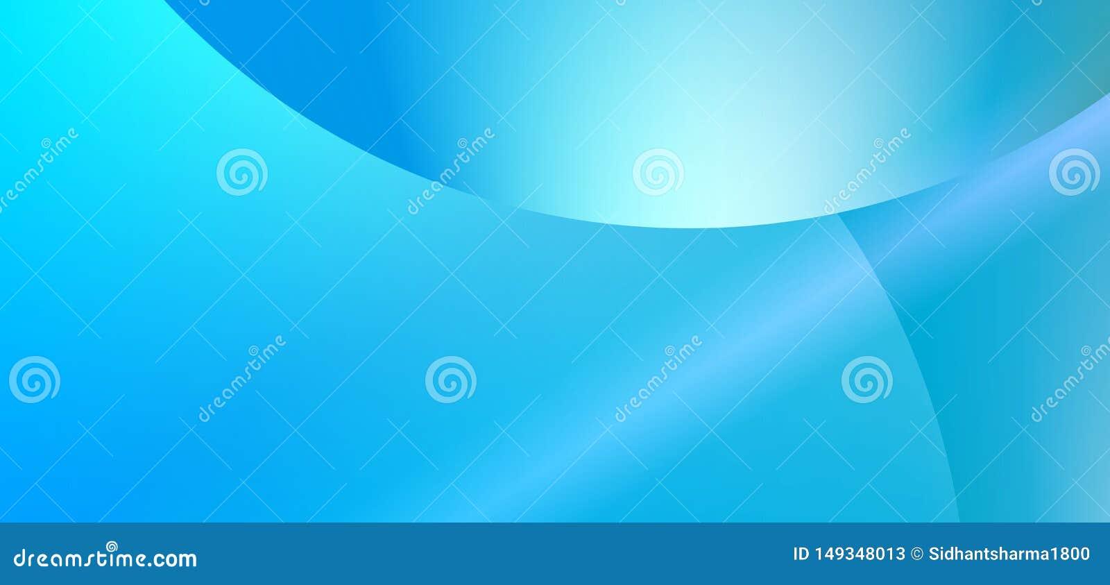 Bunte abstrakte Himmelblau-Farbstreifeneklipse reflektierte unscharfen Hintergrund