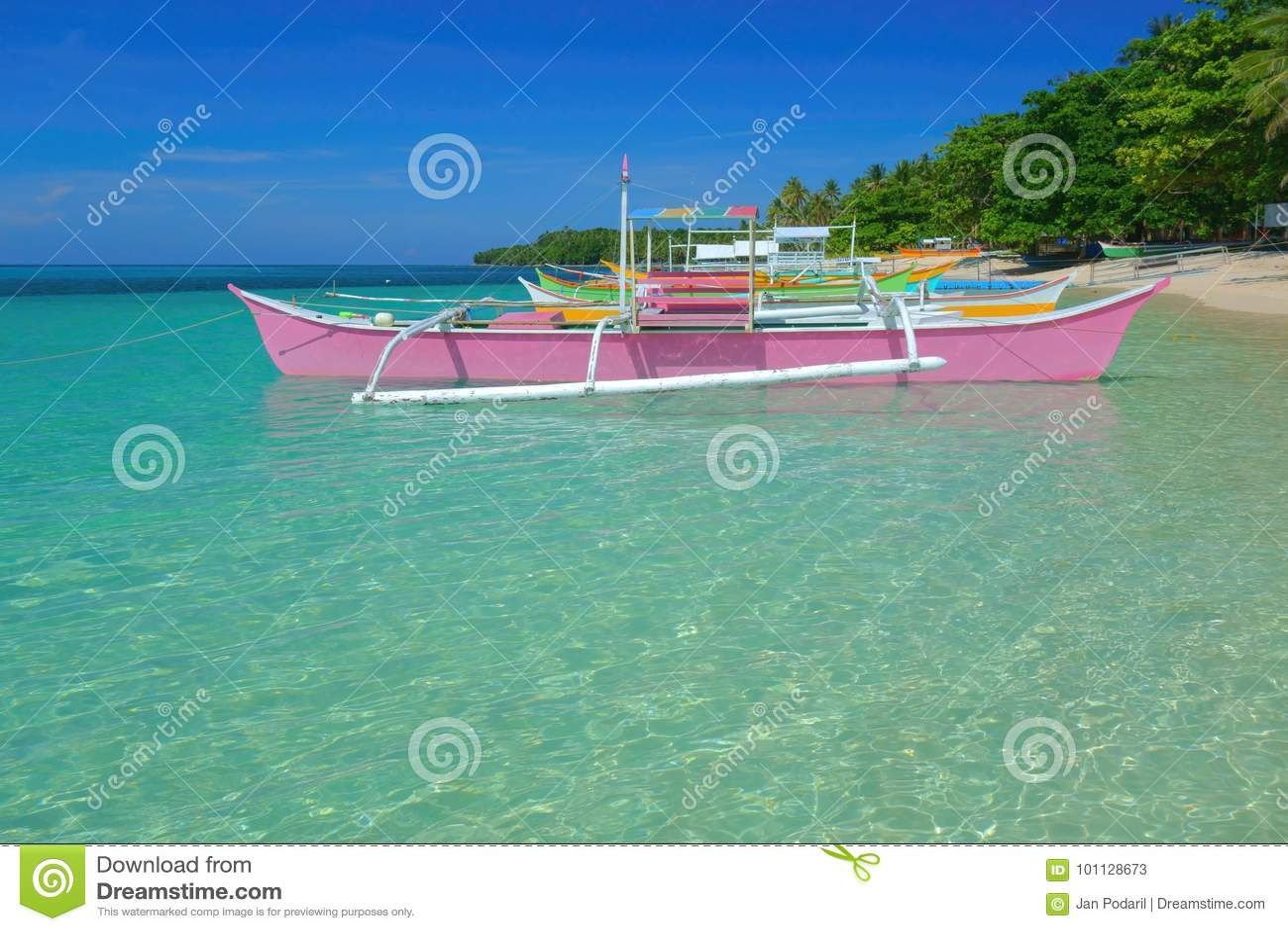 Bunte Boote