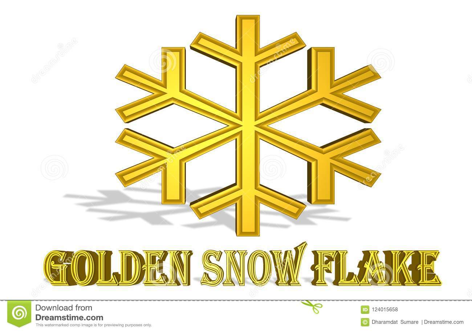 Bunte Illustration eines ` Schnee-Flocke `, das explodieren wird