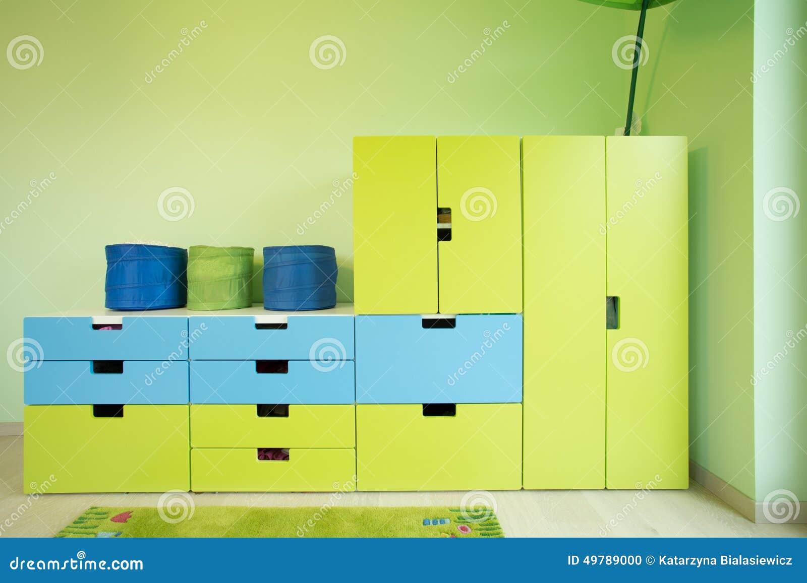 Bunte Möbel bunte möbel innerhalb eines raumes stockfoto bild bequem