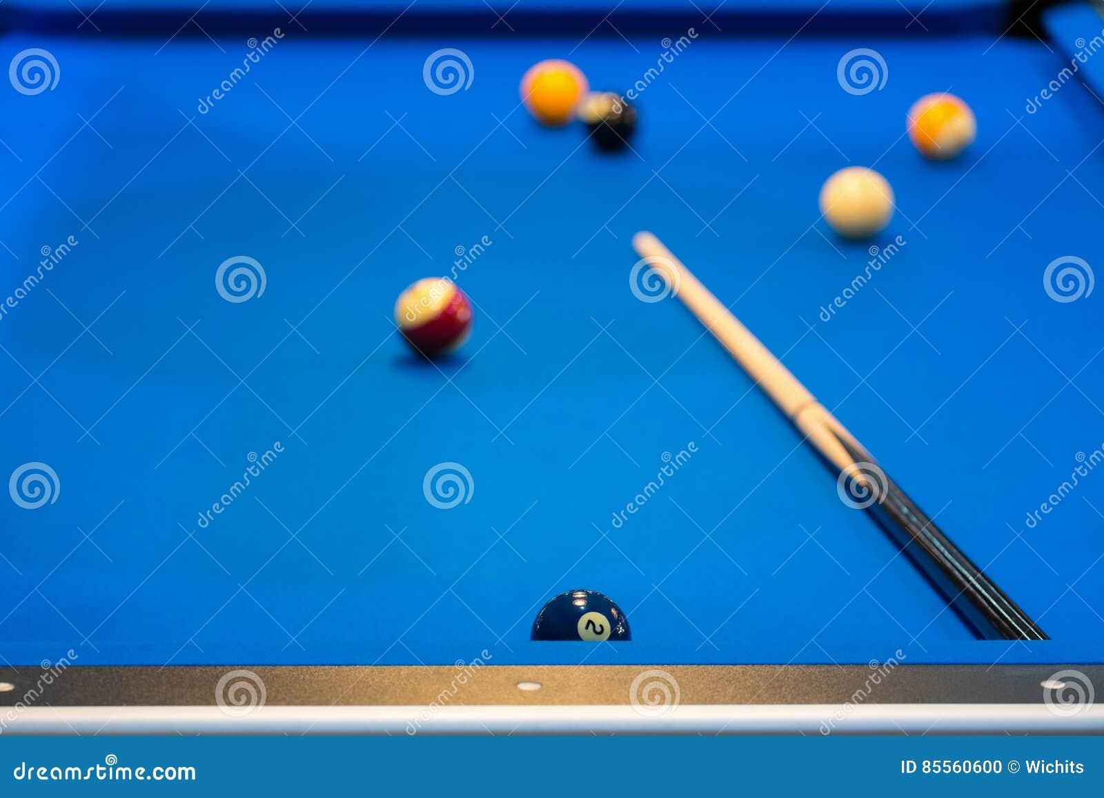 Bunte Pool-Kugeln