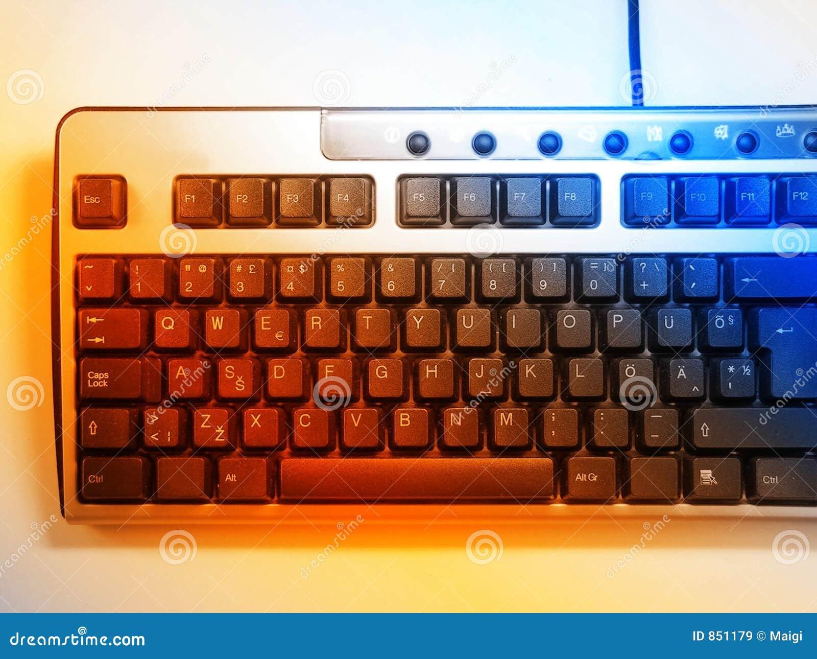 Bunte Tastatur