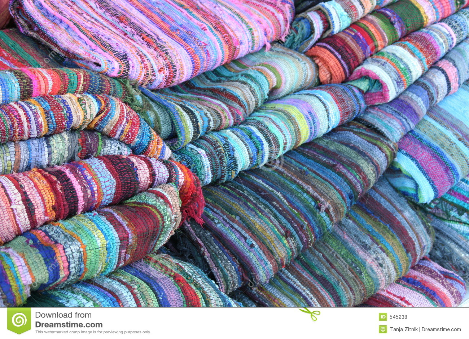 Bunte Teppiche Lizenzfreie Stockfotos  Bild 545238