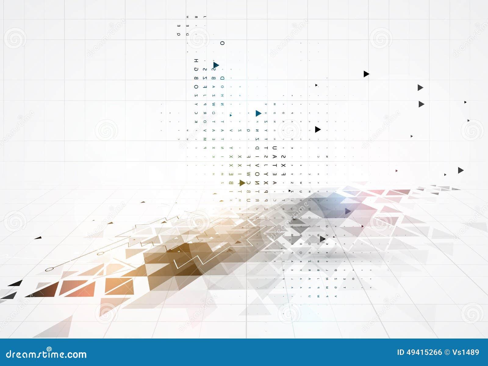 Download Bunter Abstrakter Geometrischer Hintergrund Für Design Vektor Abbildung - Illustration von hell, leuchte: 49415266