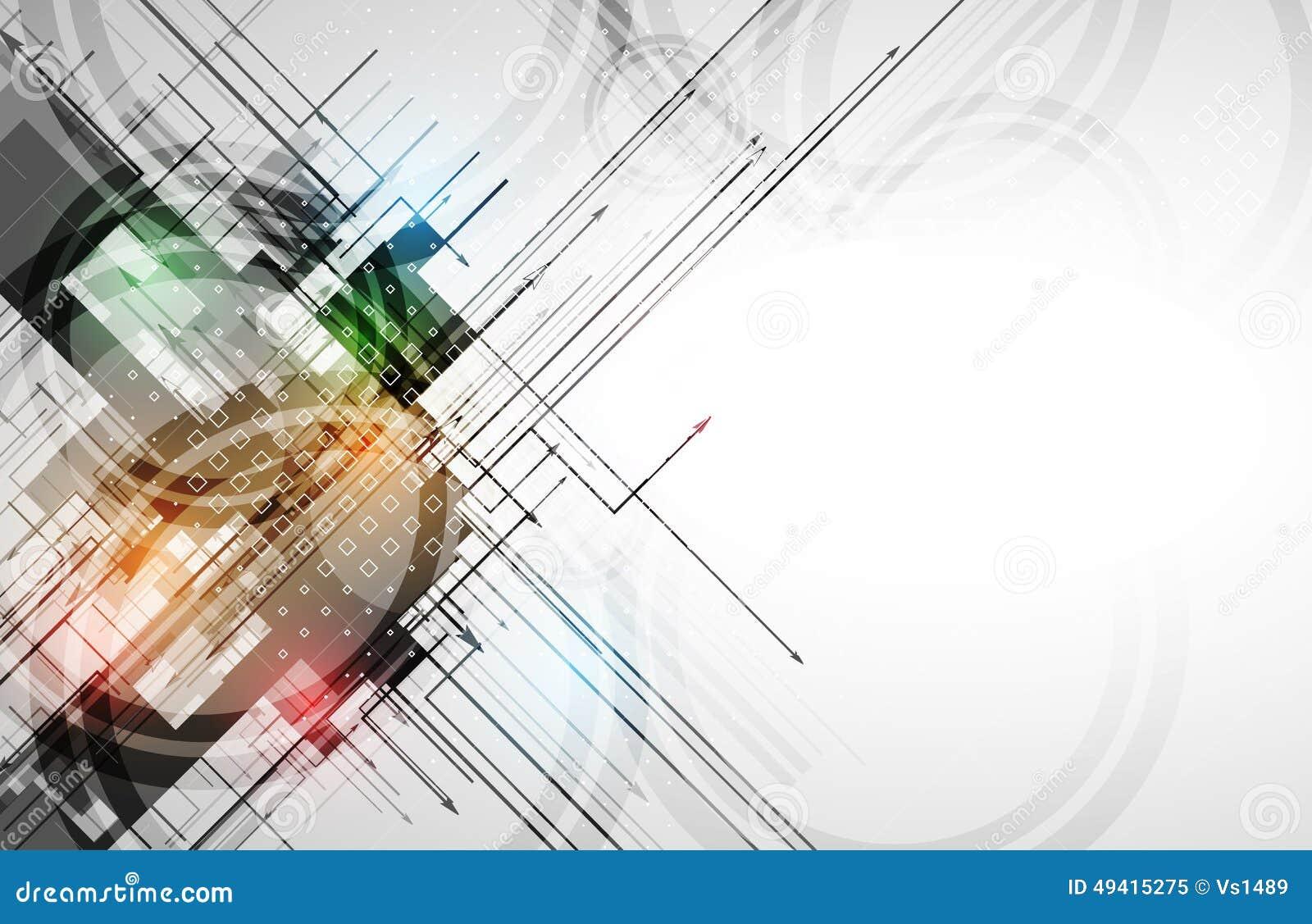 Download Bunter Abstrakter Geometrischer Hintergrund Für Design Vektor Abbildung - Illustration von element, gestaltungsarbeit: 49415275