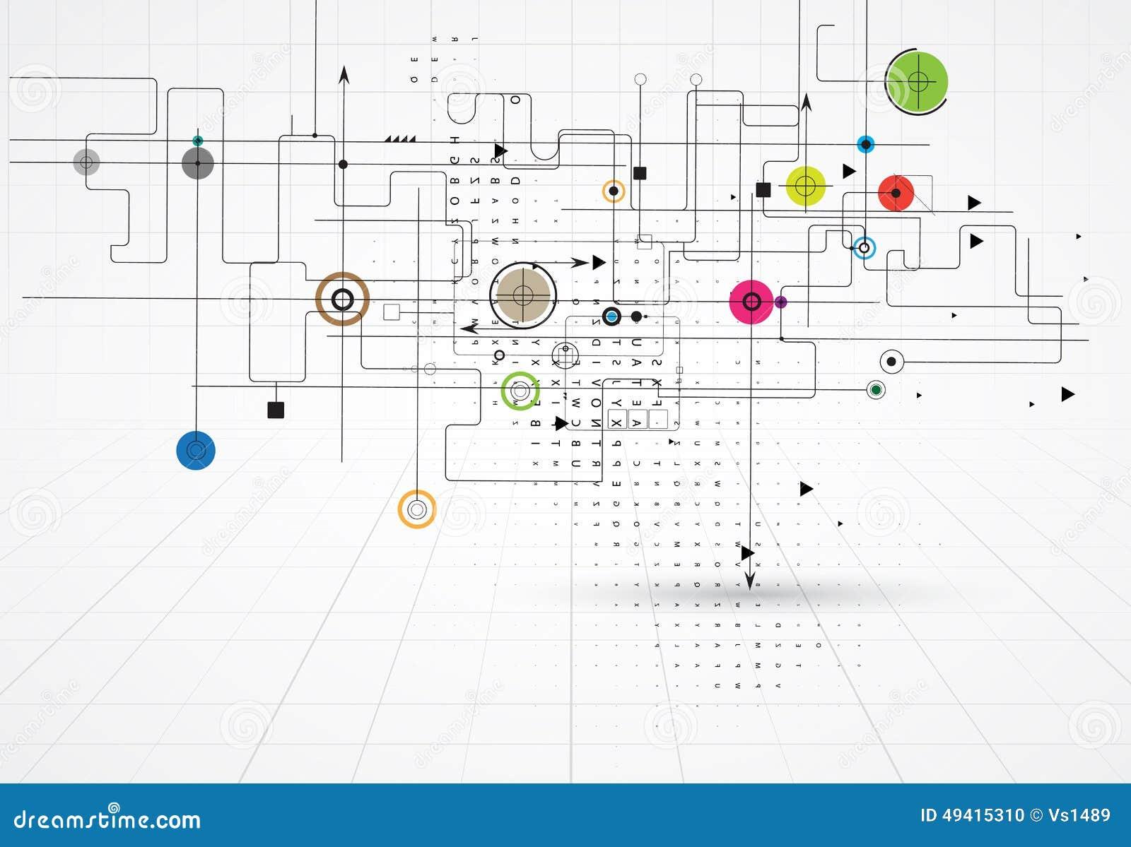 Download Bunter Abstrakter Geometrischer Hintergrund Für Design Vektor Abbildung - Illustration von muster, graphik: 49415310