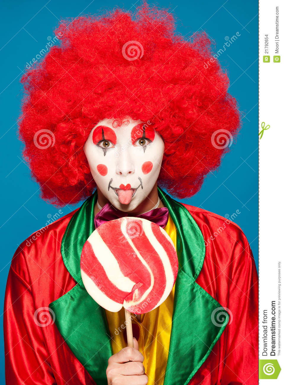 Bunter Clown