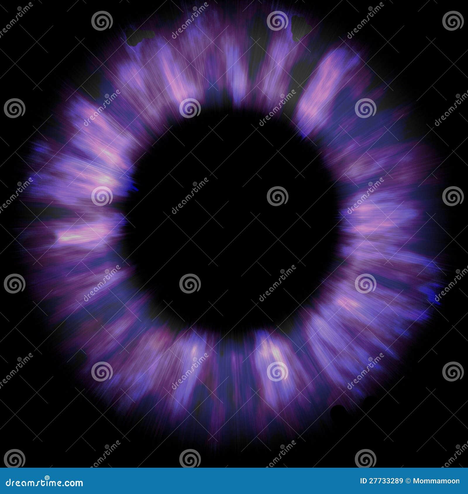 Bunter purpurroter Kreis