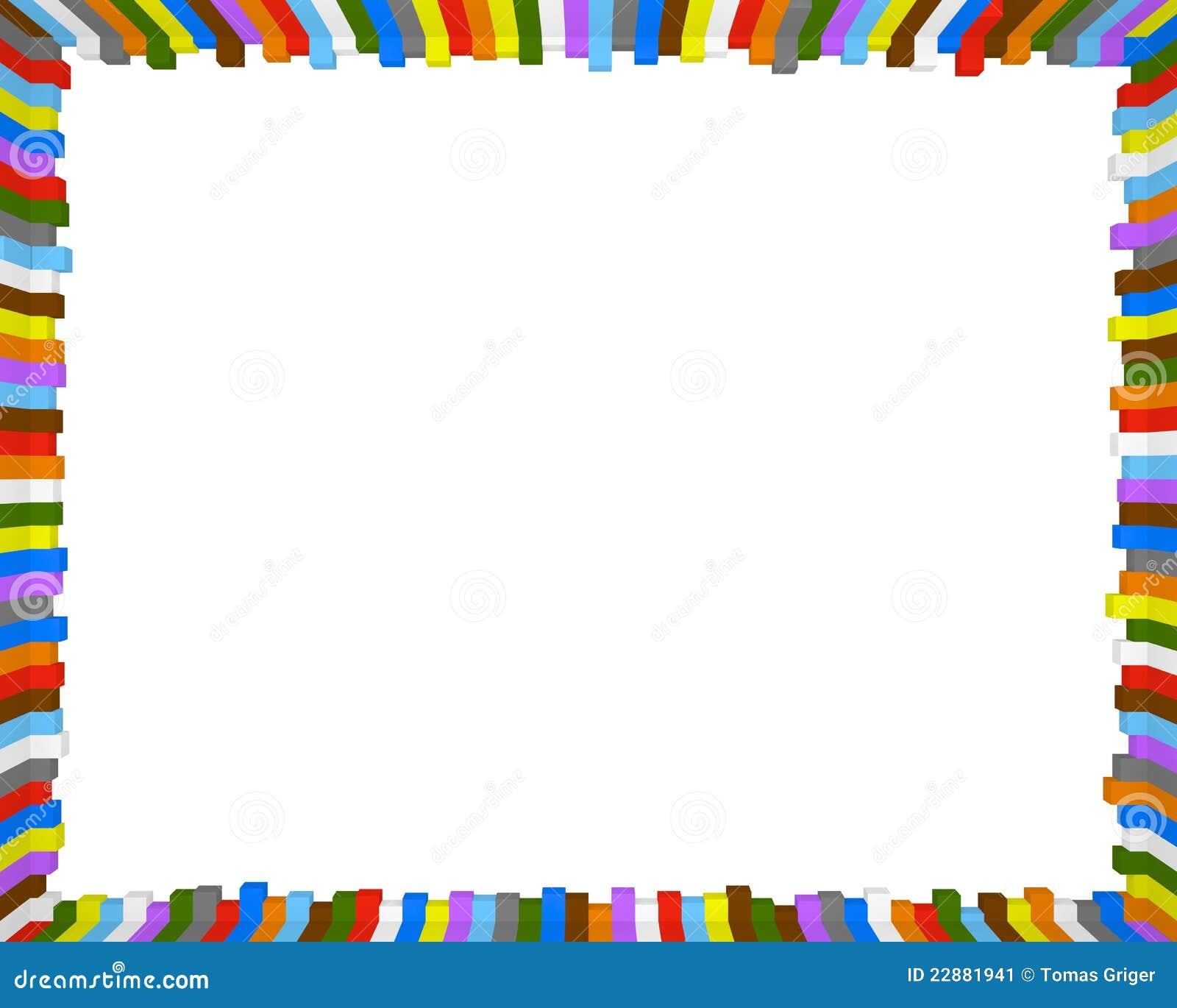 Bunter Rahmen stock abbildung. Illustration von bunt - 22881941