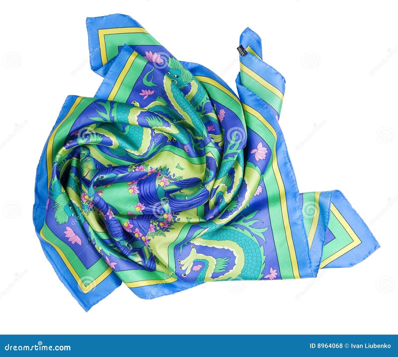 Bunter Schal