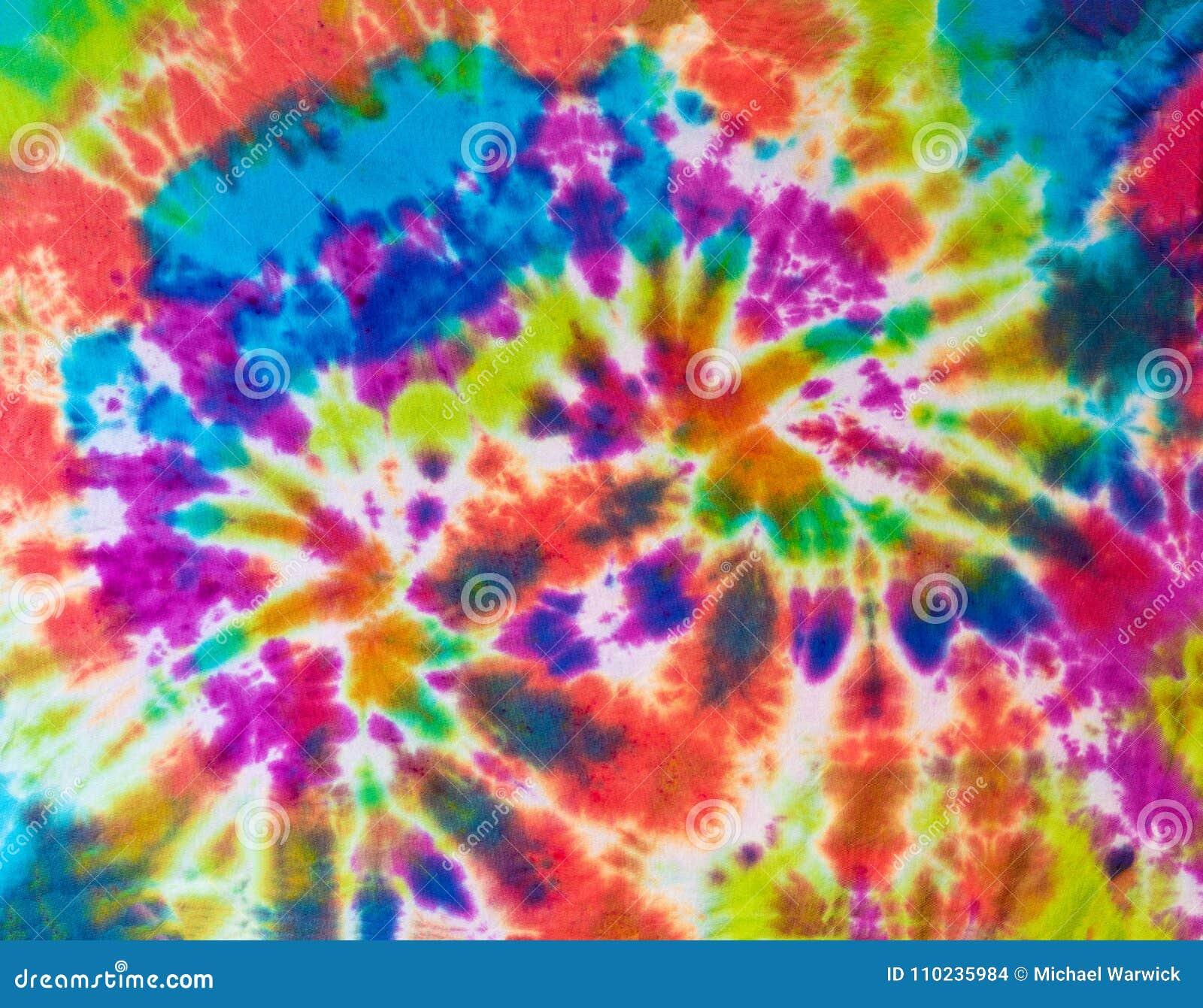 Buntes abstraktes Bindungs-Färbungs-Muster-Design in den mehrfachen Farben
