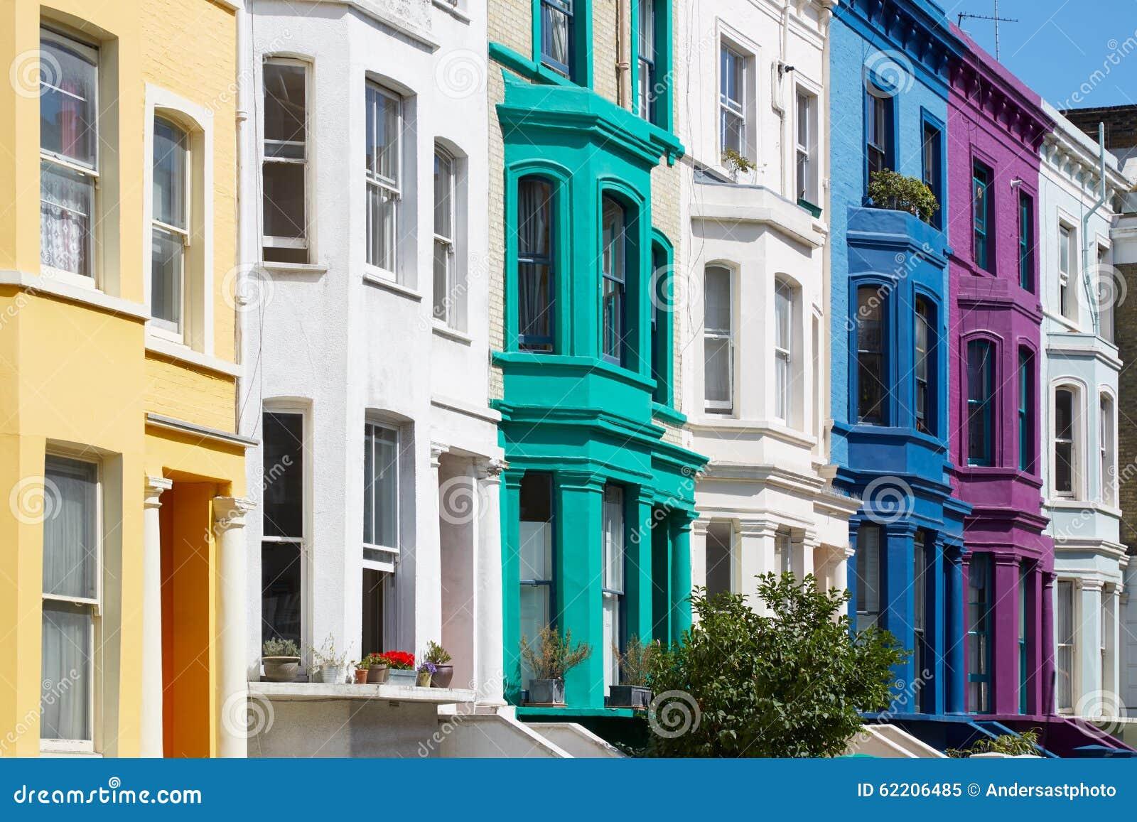 Buntes Englisch bringt Fassaden in London unter