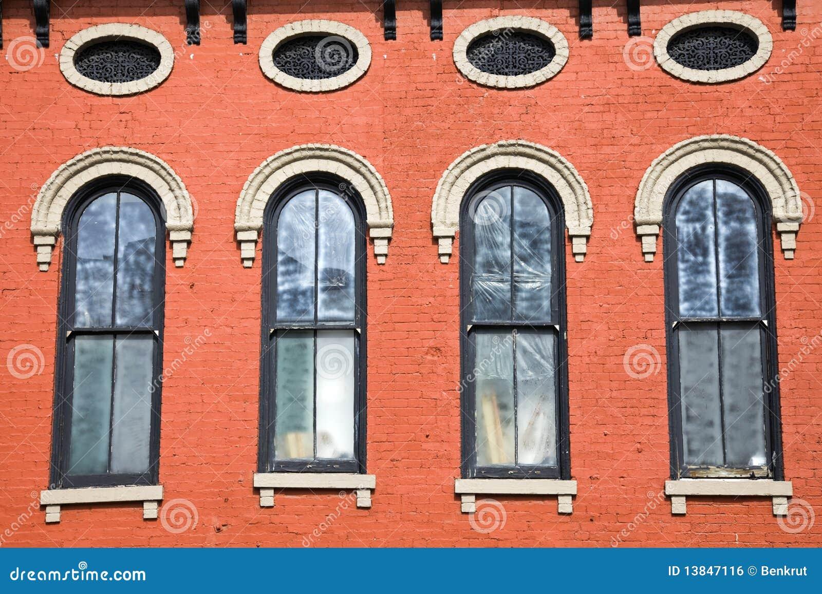 Buntes historisches Gebäude in Lexington