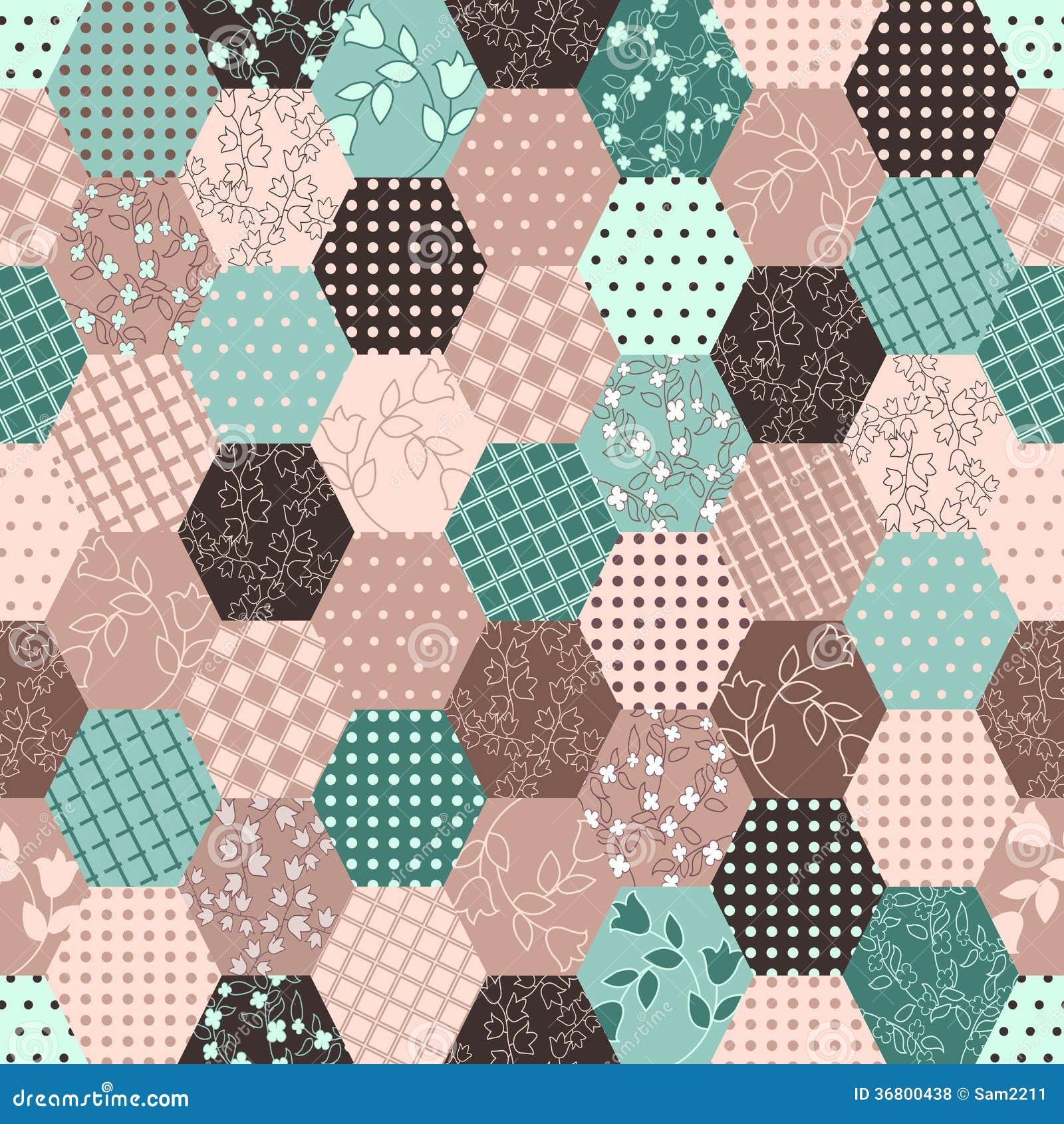 buntes patchwork nahtlose muster lizenzfreie stockfotos bild 36800438. Black Bedroom Furniture Sets. Home Design Ideas