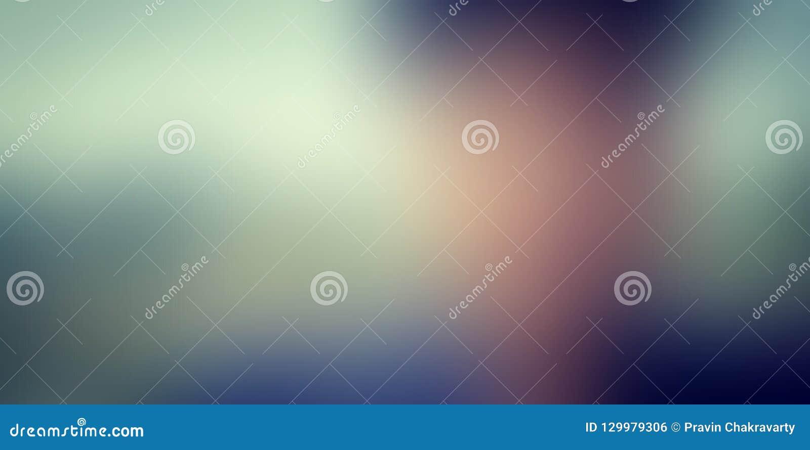 Buntes Unschärfezusammenfassungshintergrund-Vektordesign, bunter unscharfer schattierter Hintergrund, klare Farbvektorillustratio