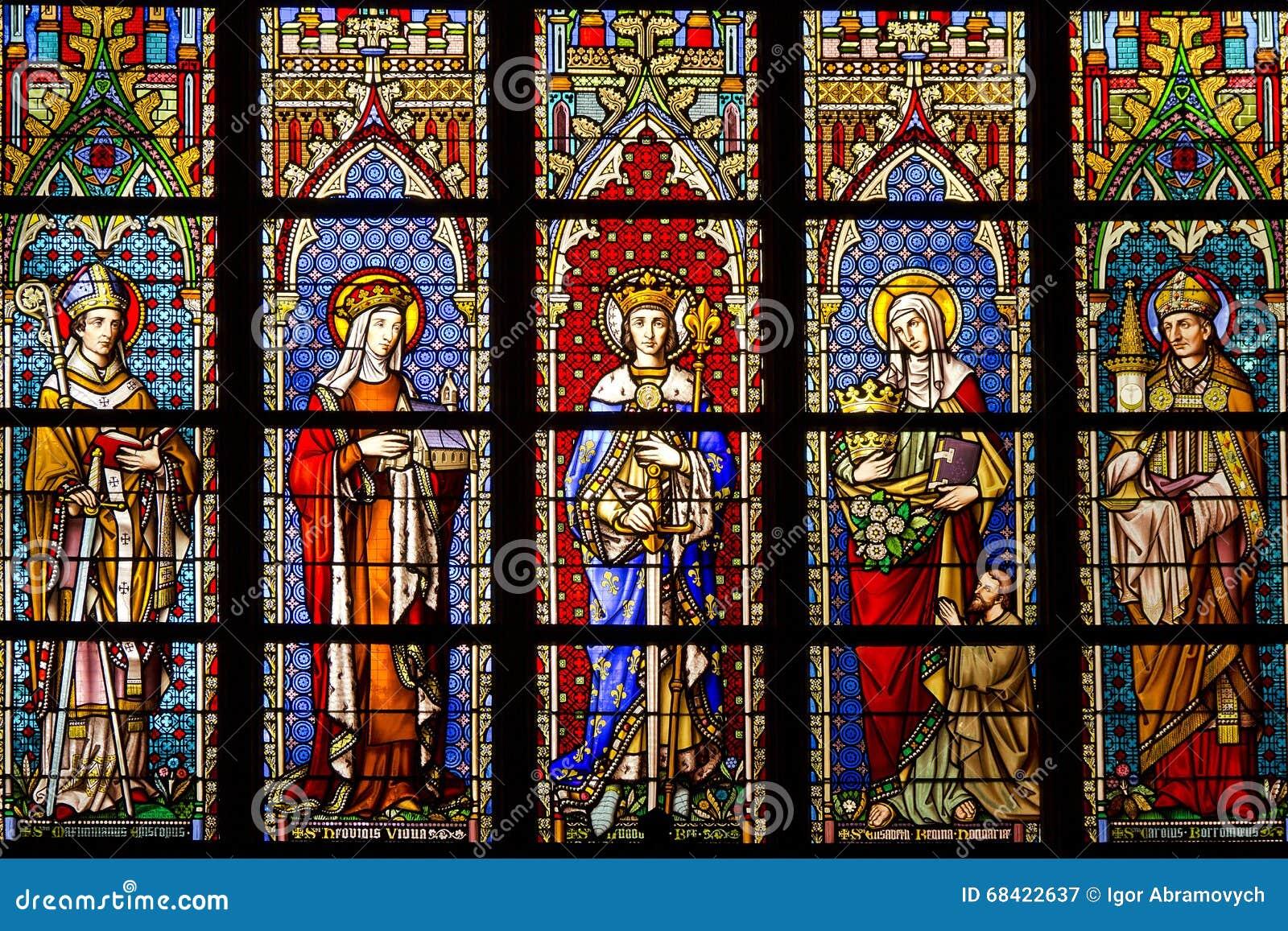 Buntglas in der Kathedrale