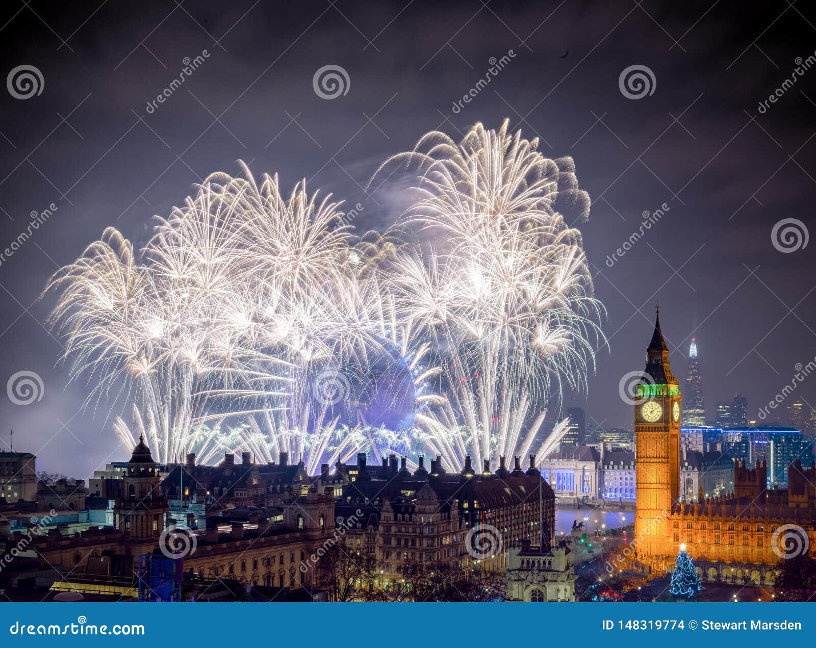 Buon anno Londra