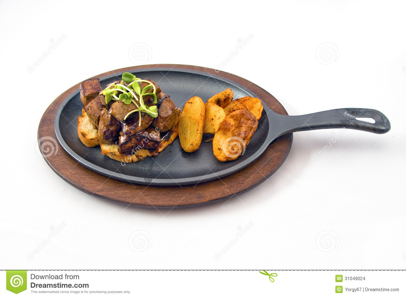 Buon appetite stock images image 31049024 for Baked chicken liver recipes