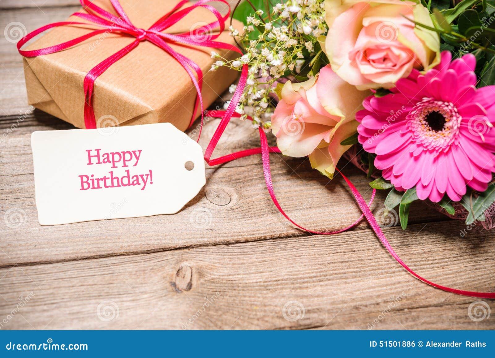 Assez Scheda di buon compleanno con i fiori foto stock - Iscriviti Gratis WS69
