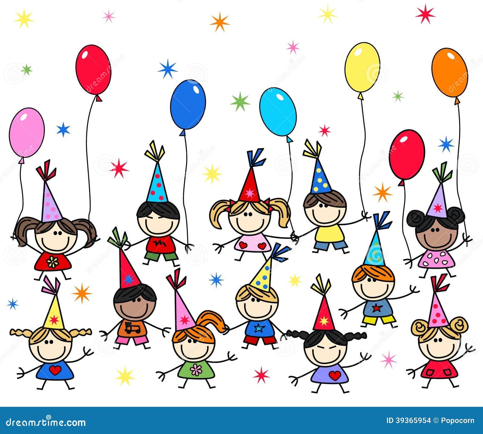 Favorito Buon Compleanno O Doccia Di Bambino Illustrazione Vettoriale  VD81