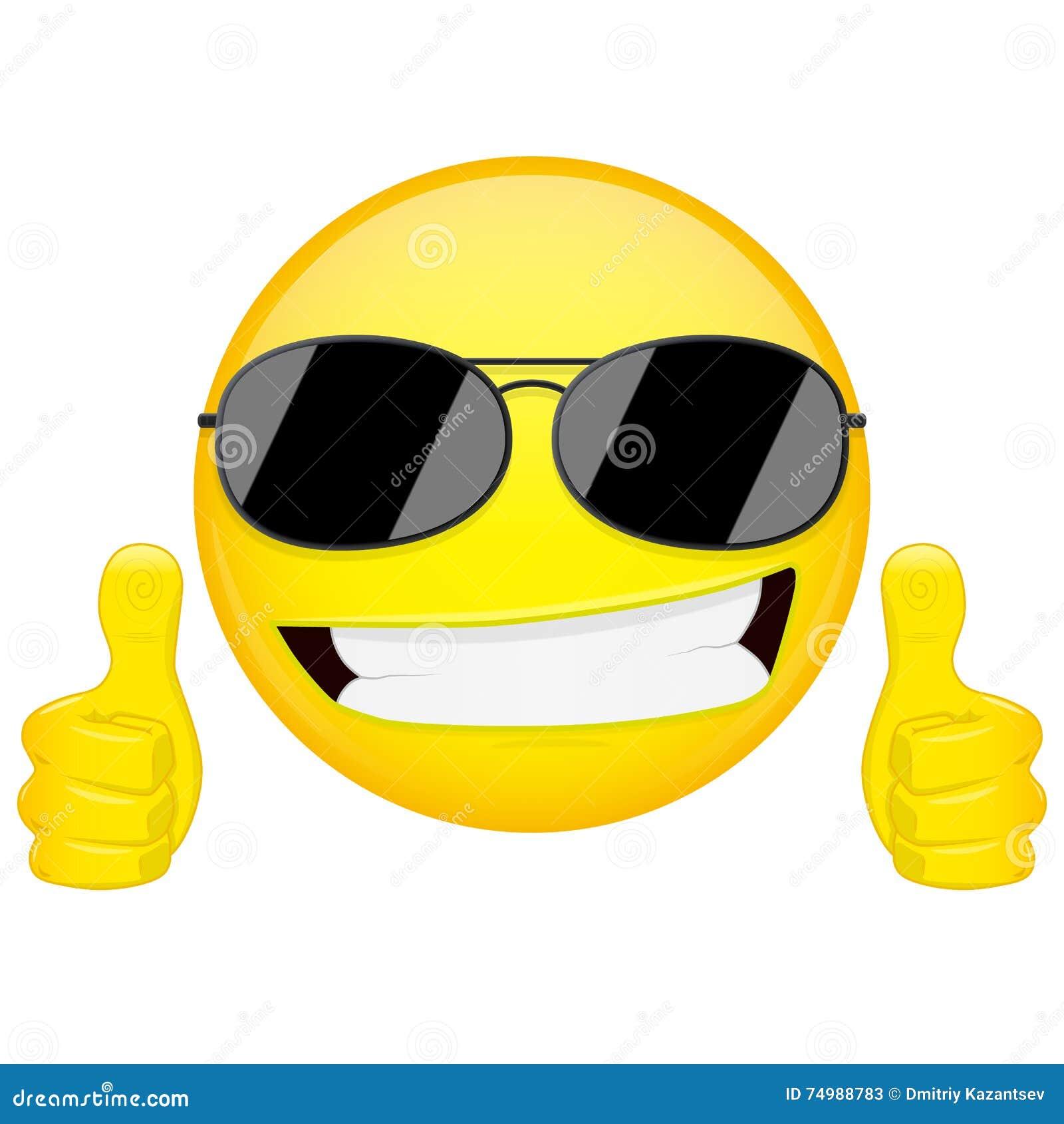 buongiorno a tutti voi amici - Pagina 5 Buon-emoji-di-idea-i-pollici-aumentano-l-emozione-tipo-fresco-con-l-emoticon-degli-occhiali-da-sole-icona-di-sorriso-dell-74988783
