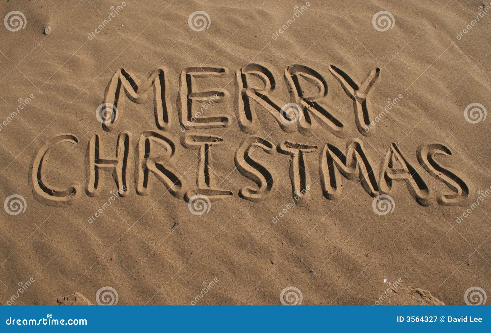 Buon Natale dalla spiaggia