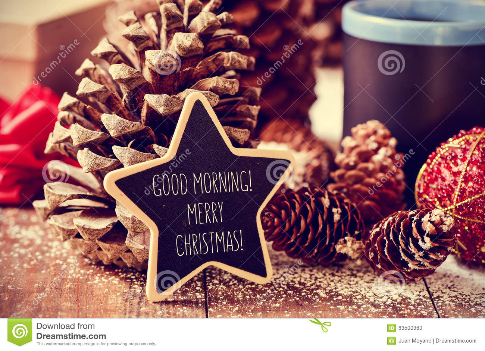 Immagini Del Buongiorno Di Natale.Buon Natale Di Buongiorno Del Testo In Una Lavagna A Forma