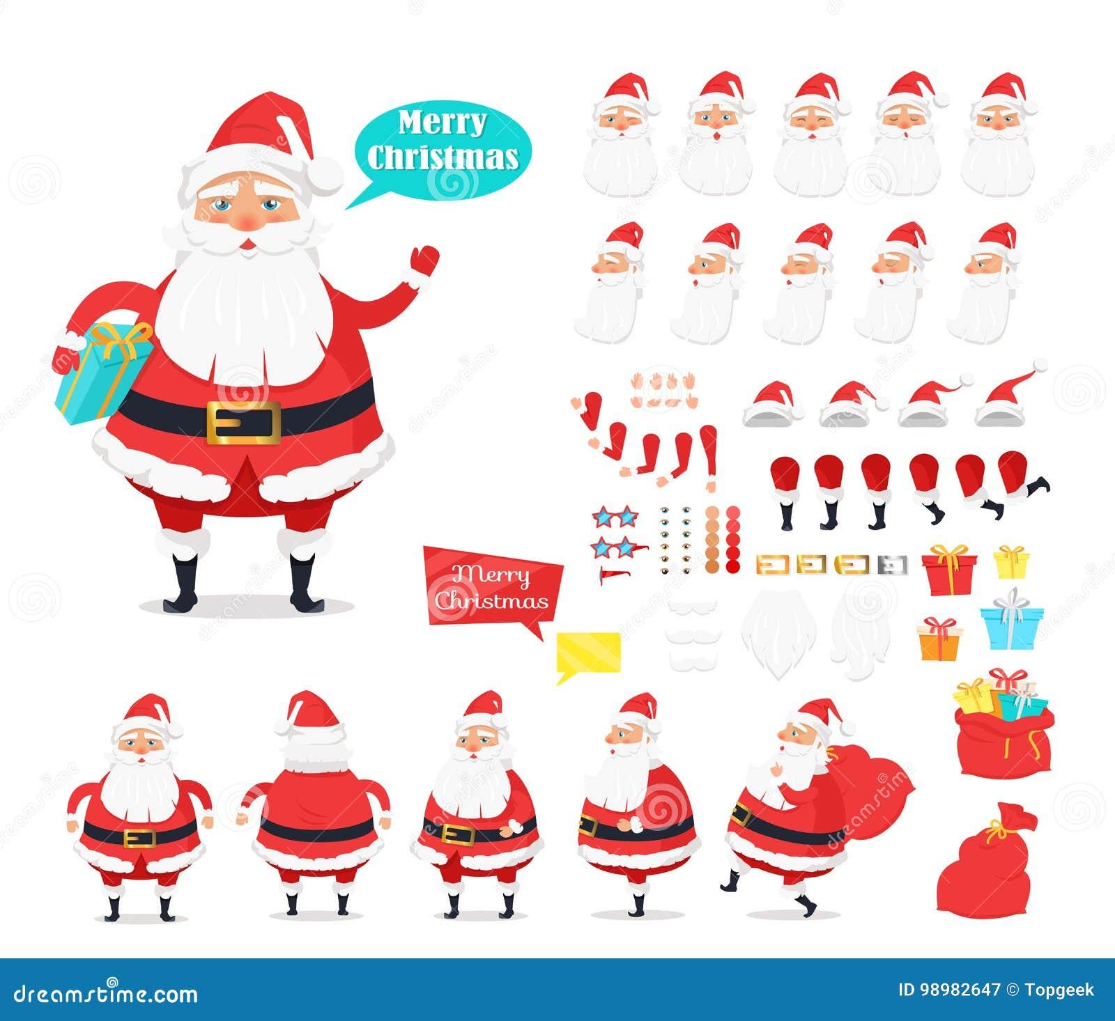 Buon Natale Freestyle Download.Buon Natale Raccolta Delle Icone Di Santa Claus