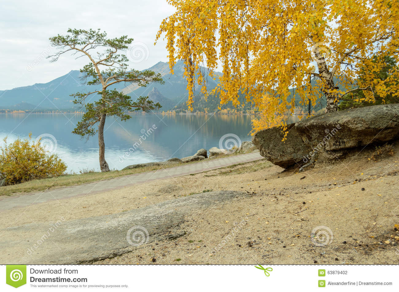 Borovoe Kazakhstan  City new picture : Mountains and pine forests in Kazakhstan, Borovoe resort.