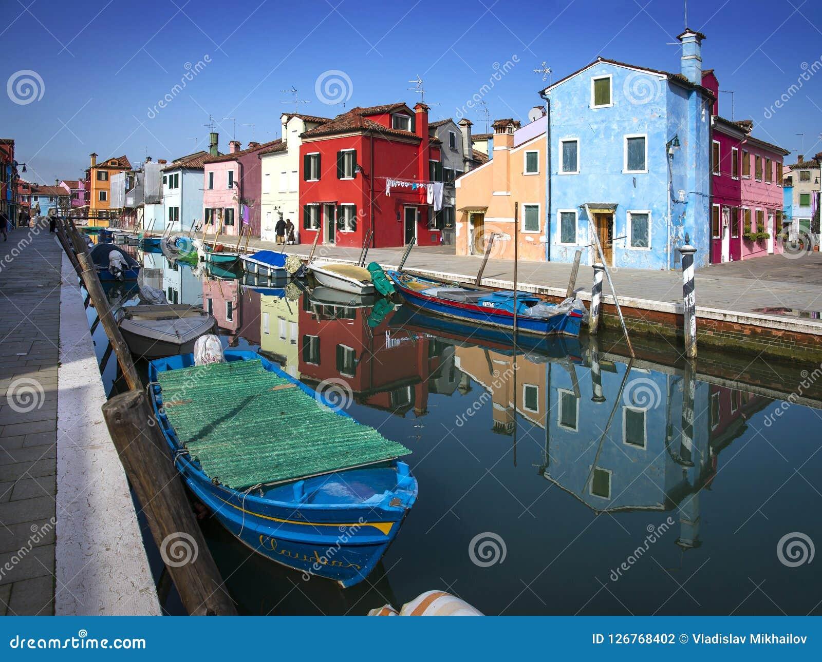 Burano-Insel, in Venedig, Italien