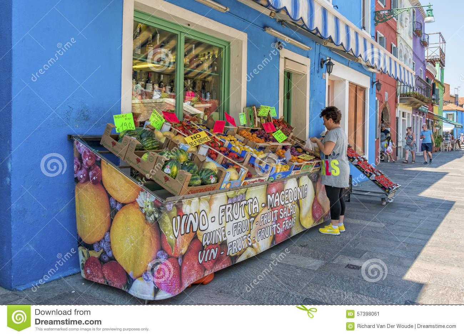 Burano, Italië