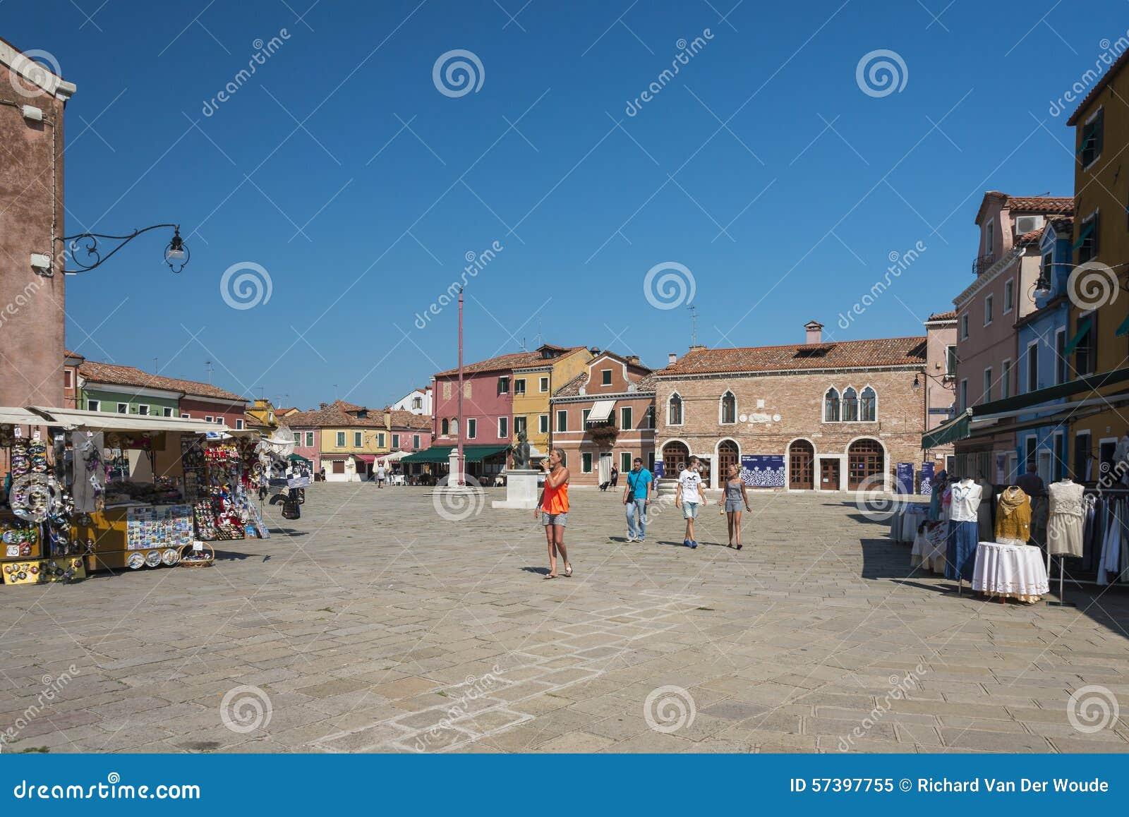 Burano, Venetië, Italië