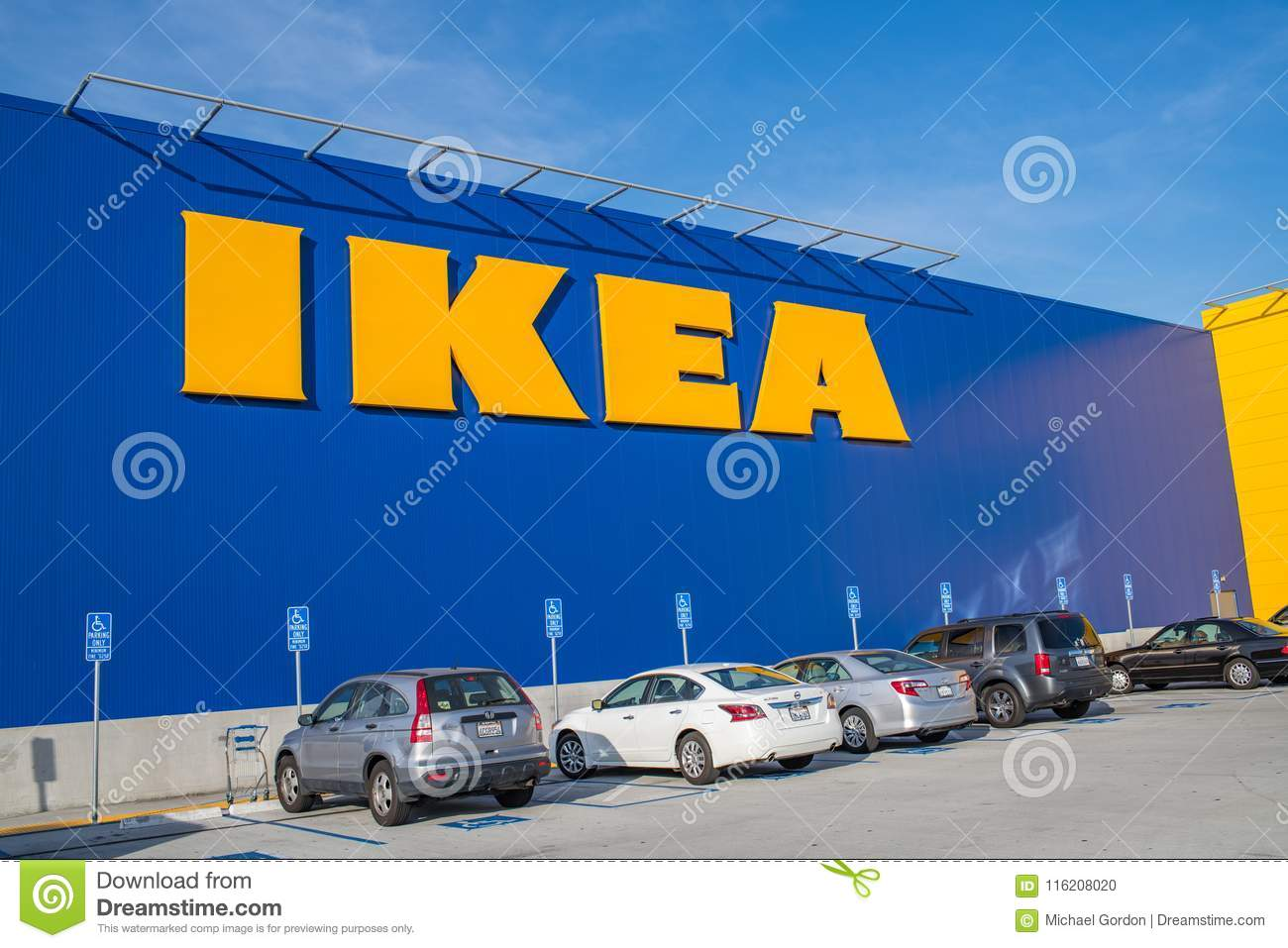 Download Exterior Of An Ikea Store Editorial Image. Image Of Furniture    116208020