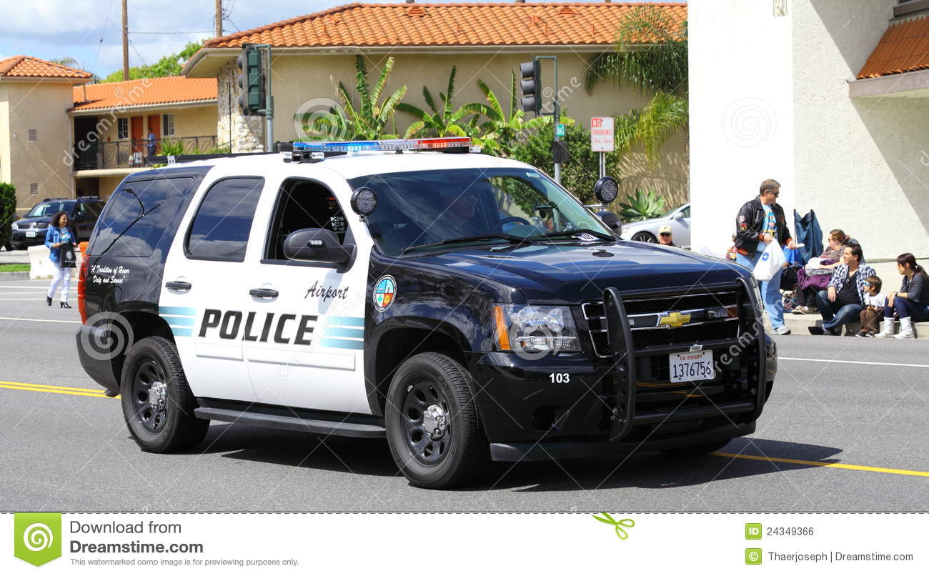 Burbank Police Suv Editorial Photo Image Of Lights