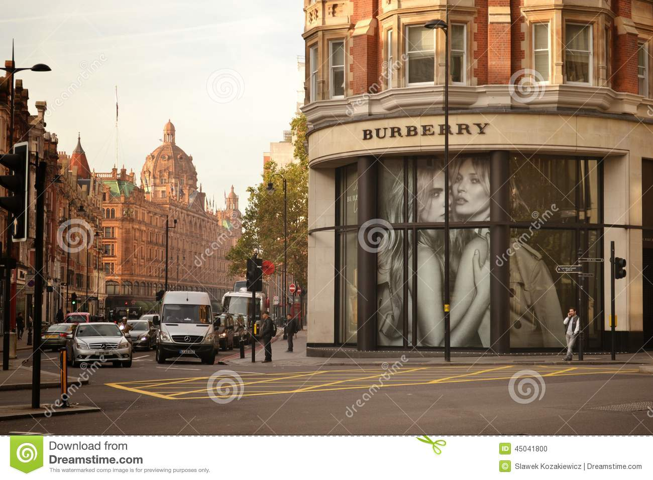 burberry shop knightsbridge london editorial image image