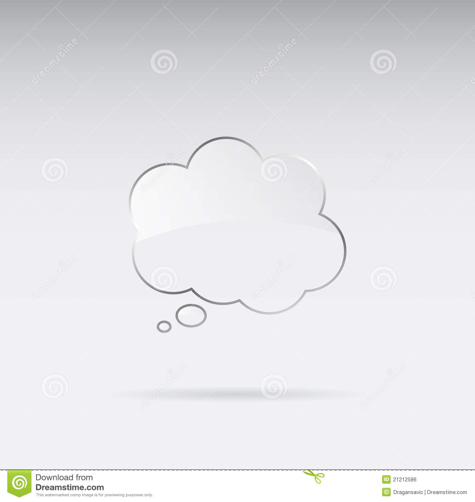 Burbuja de cristal del discurso