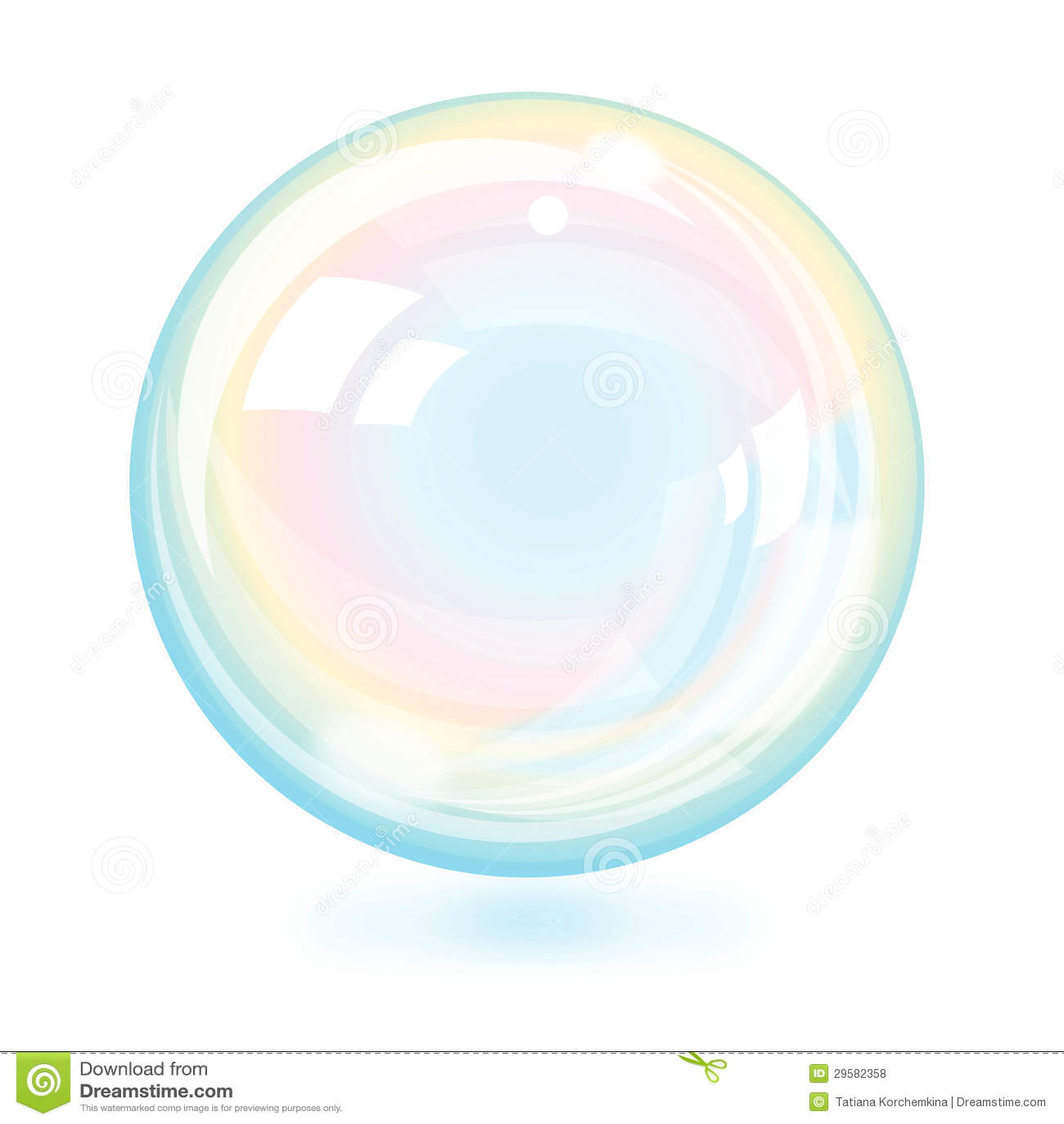 hermosa burbuja
