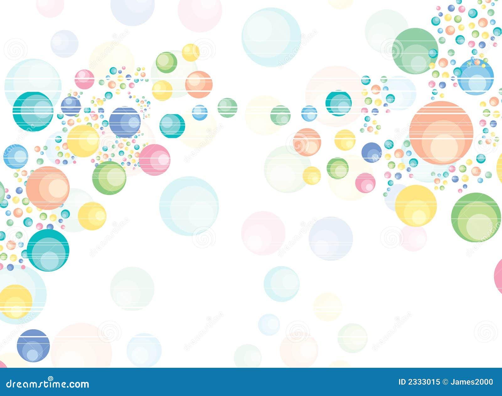 Burbujas Ilustración Del Vector. Ilustración De Retro