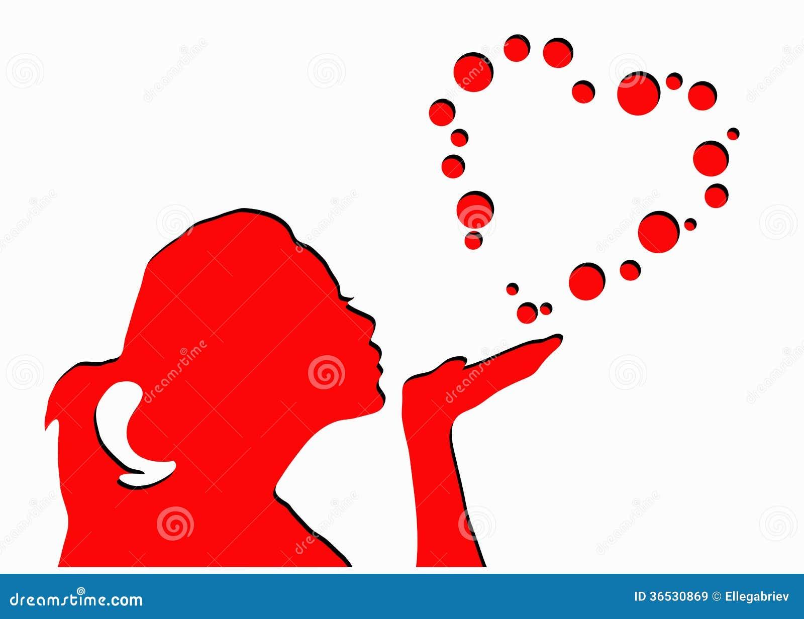 sensacion burbujas en el corazon