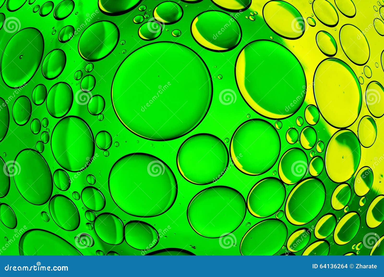 Burbujas del agua