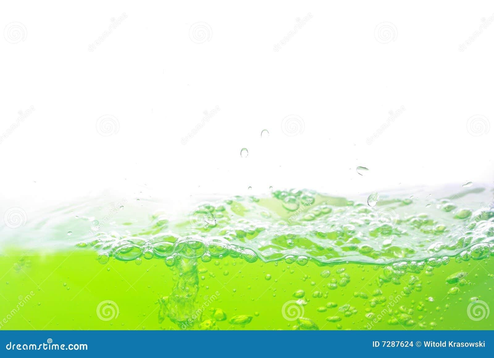 Burbujas en agua