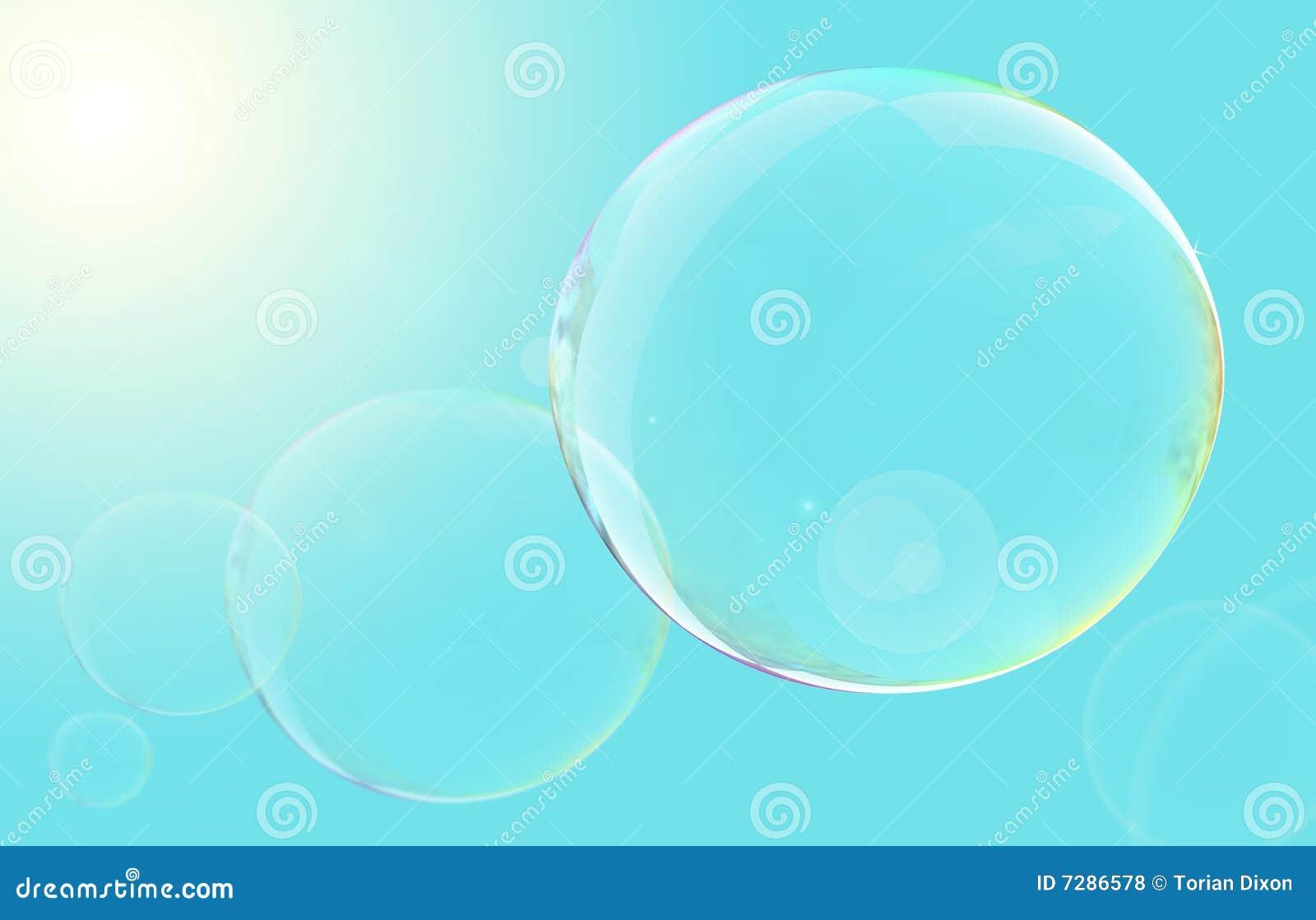 Burbujas flotantes