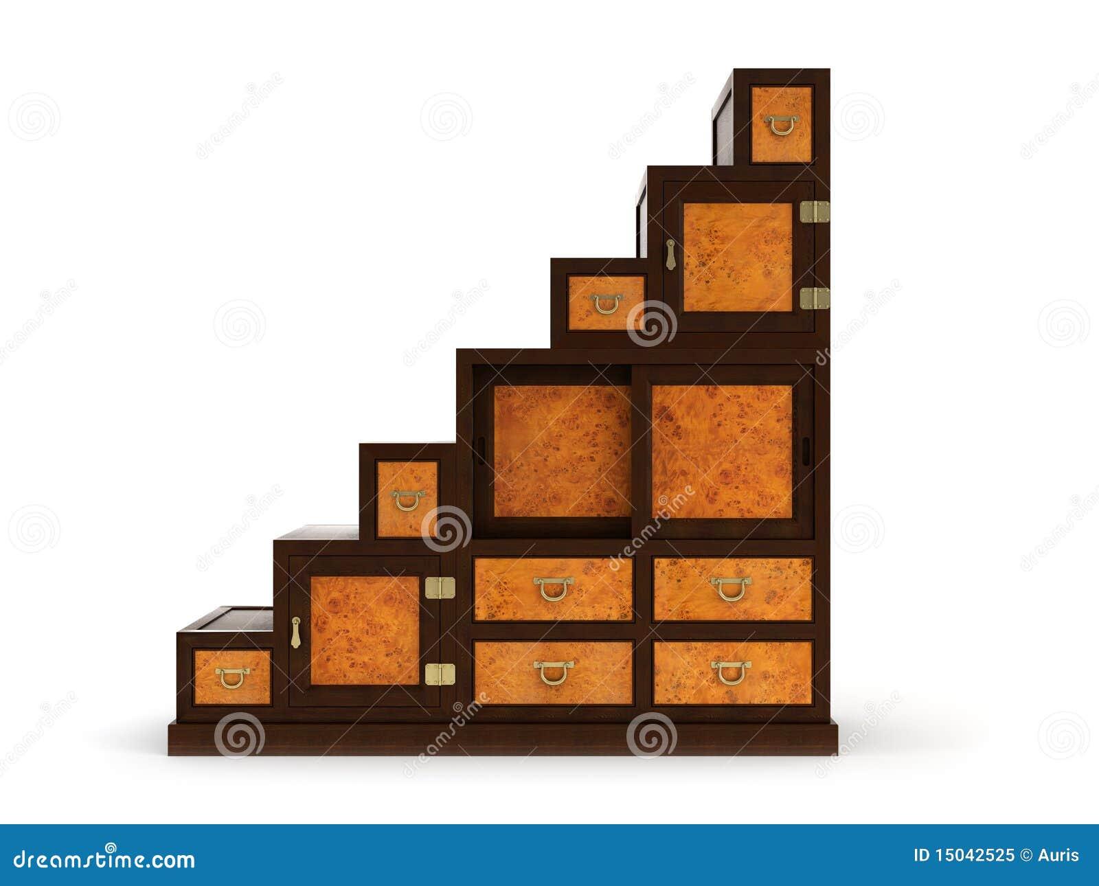 bureau 3d royalty free stock photo image 15042525. Black Bedroom Furniture Sets. Home Design Ideas