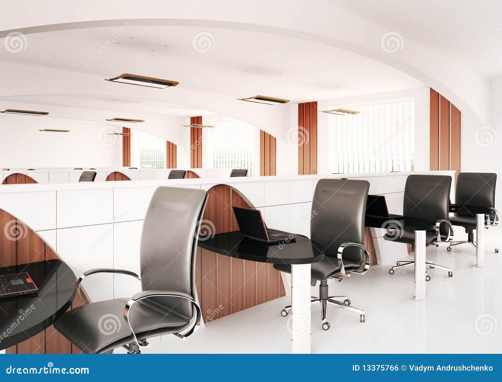 bureau 3d d 39 ordinateur image libre de droits image 13375766. Black Bedroom Furniture Sets. Home Design Ideas
