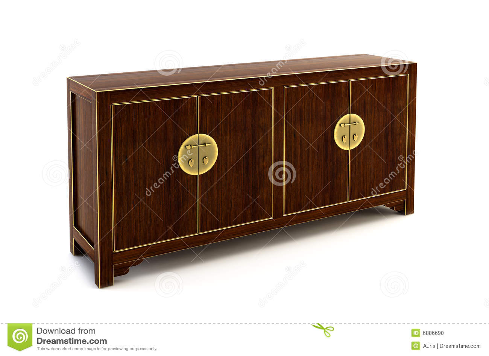 bureau 3d rendering stock photo image 6806690. Black Bedroom Furniture Sets. Home Design Ideas