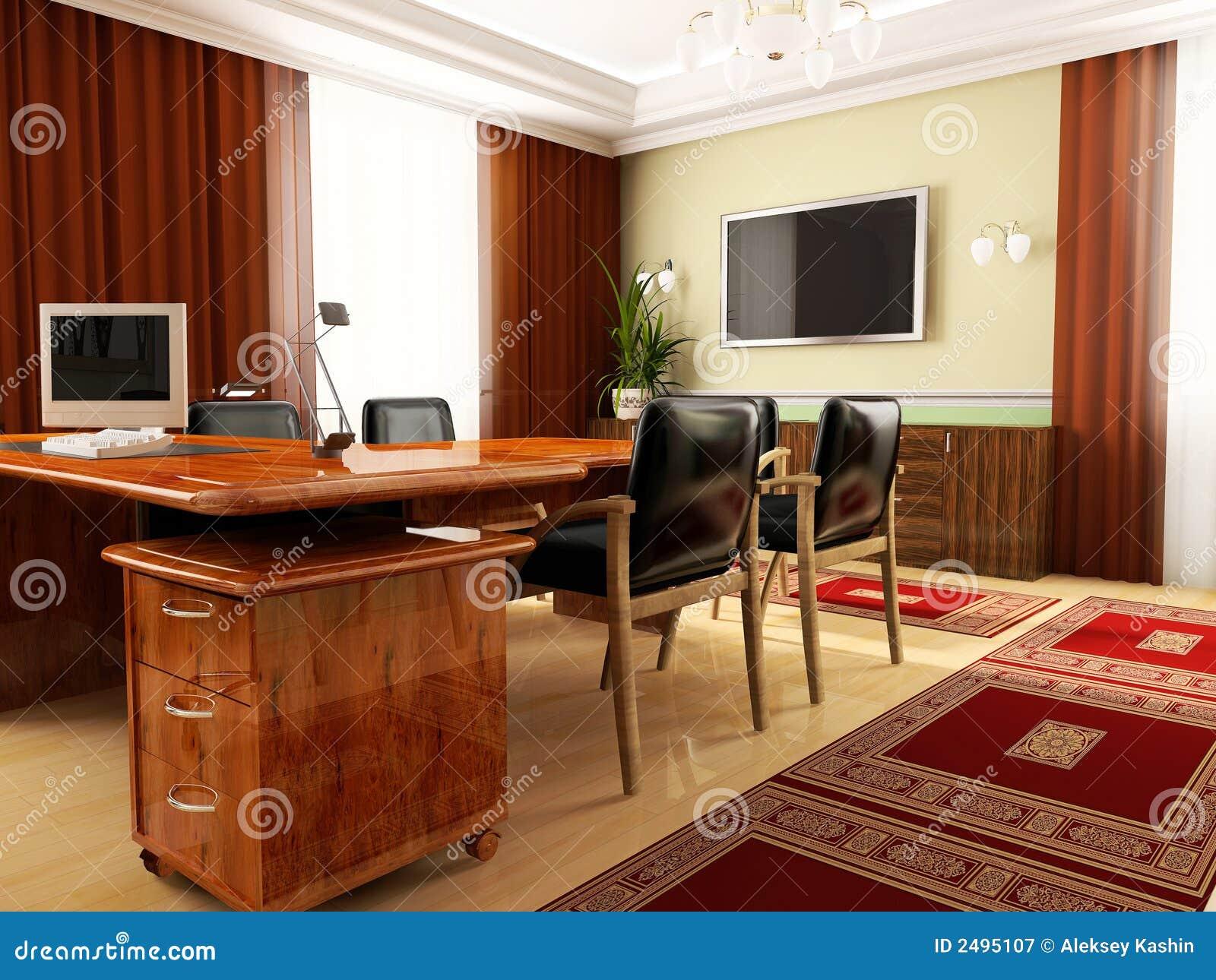Bureau classique image stock. Image du manoir, durée, intérieur ...