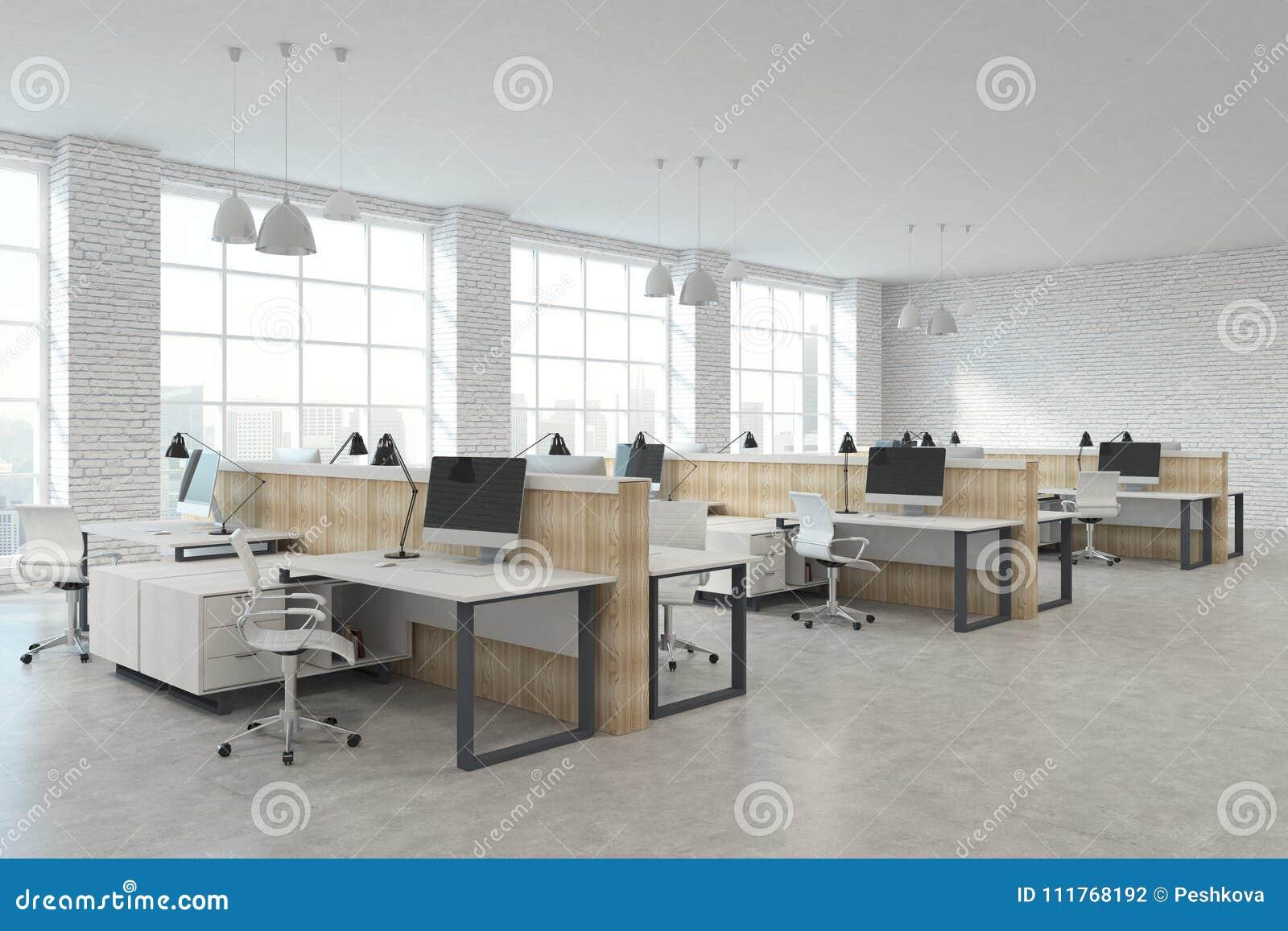 bureau coworking moderne photo stock image du contemporain 111768192. Black Bedroom Furniture Sets. Home Design Ideas