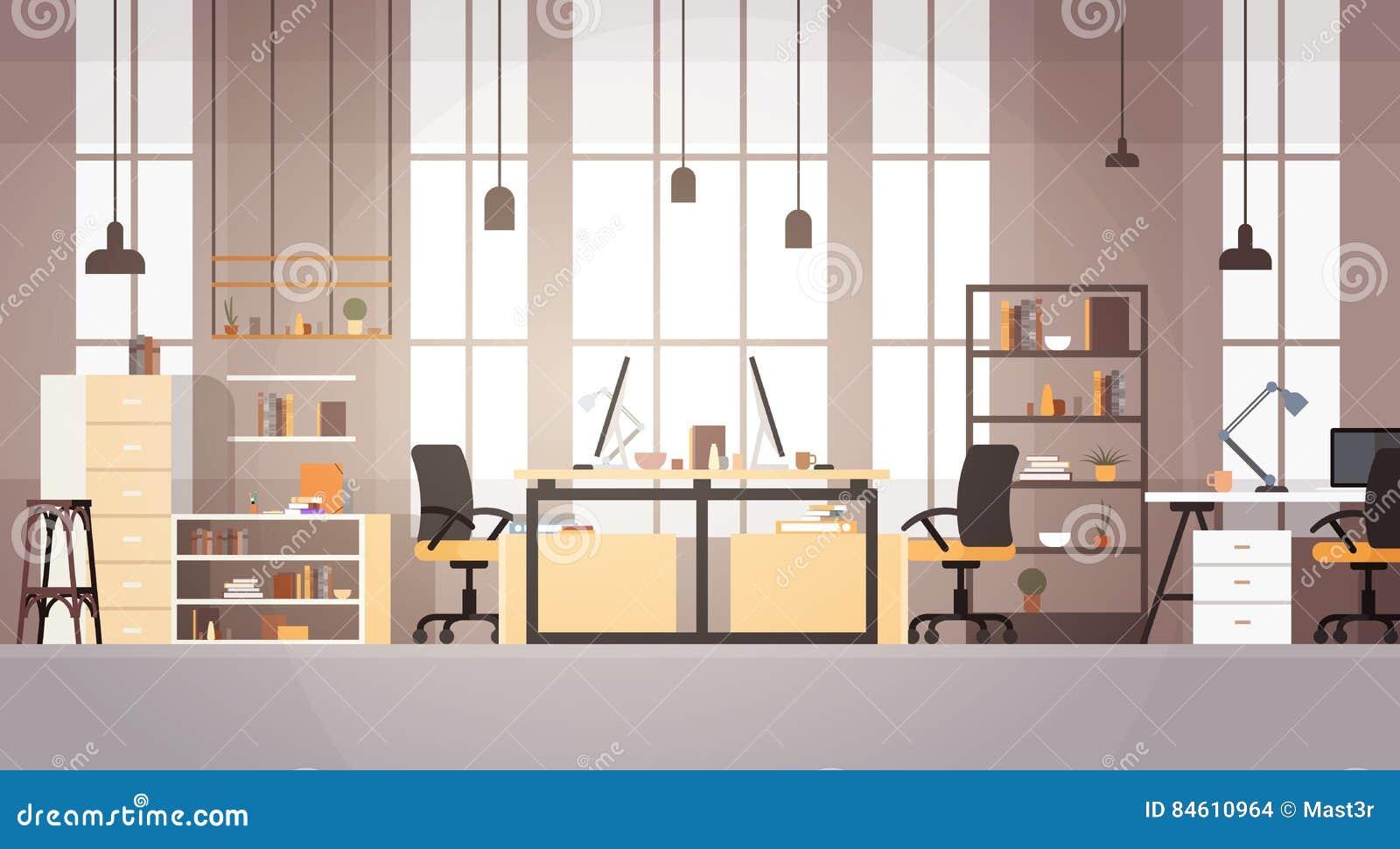 Bureau Créatif Co-travaillant Le Lieu De Travail Moderne De Campus ...
